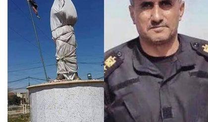أهالي الموصل يستعدون لافتتاح تمثال الفريق الركن عبد الوهاب الساعدي