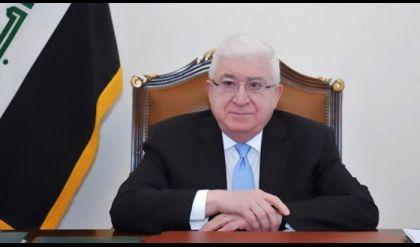 معصوم يعزي بوفاة الدليمي ويؤكد دوره في الحركة الوطنية العراقية