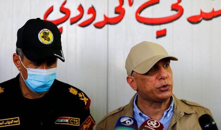 الكاظمي يعلن بدء مرحلة إعادة فرض القانون في المنافذ الحدودية والأمن النيابية تدعمه