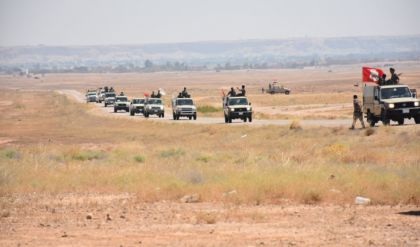 الحشد الشعبي يعلن إنطلاق عملية عسكرية واسعة غرب الأنبار