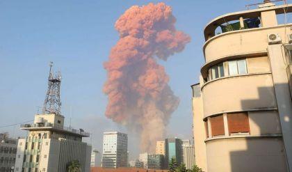 انفجار قوي يهز بيروت