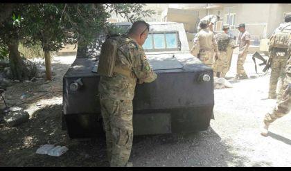 بالصور: ضبط ثلاث سيارات مفخخة في حي النجار بأيمن الموصل