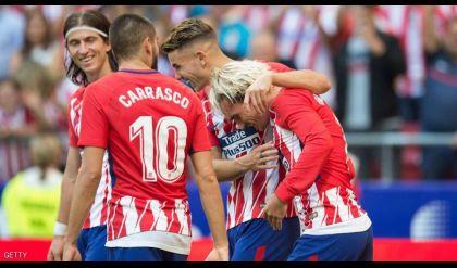 أتلتيكو مدريد ينتزع المركز الثاني
