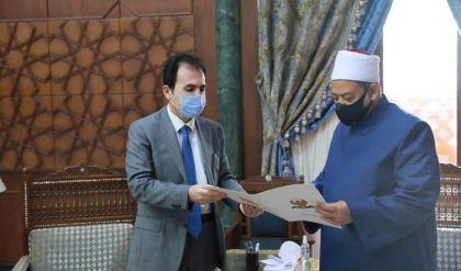 شيخ الأزهر يرحب بدعوة رسمية له من مسرور بارزاني لزيارة إقليم كوردستان