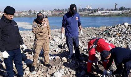 انتشال 7 جثث مجهولة الهوية في الجانب الايمن من مدينة الموصل
