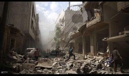 المرصد السوري: عشرات القتلى بينهم 15 طفلا بـ قصف روسي