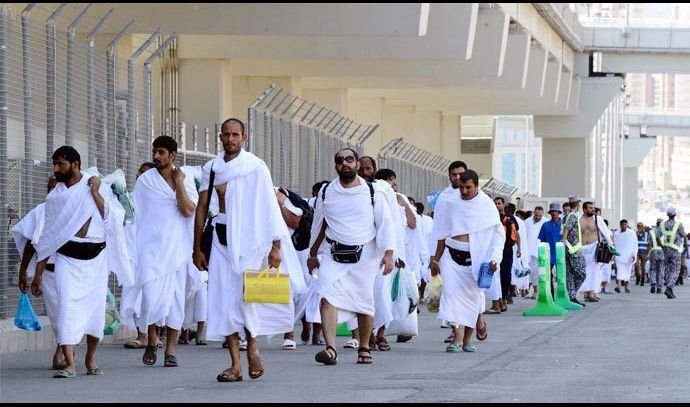 أكثر من نصف الحجاج العراقيين وصلوا الى الديار المقدسة