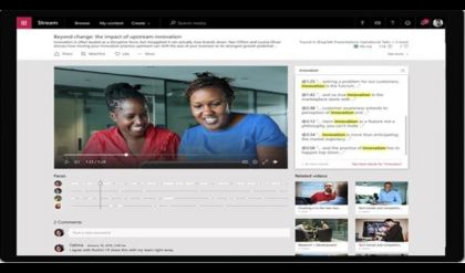 مايكروسوفت تطلق رسمياً خدمة بث الفيديو للمؤسسات
