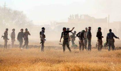الحشد يقتل انتحاريين اثنين ويفجر عجلة مفخخة جنوب غربي الموصل