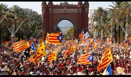 مظاهرات في كتالونيا بعد سجن الزعيمين