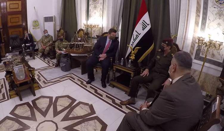 وزير القوات المسلحة البريطاني يؤكد مواصلة بلاده بمساعدة وتدريب القوات العراقية