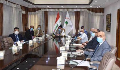 العراق وروسيا يبحثان البروتوكولات العلاجية لمصابي كورونا