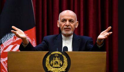 الرئيس الأفغاني يغادر البلاد إلى طاجيكستان
