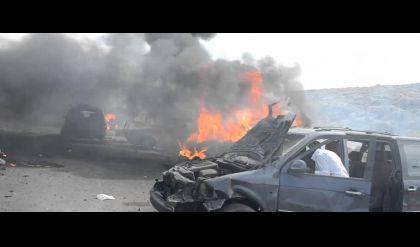 اصابة 3 تلاميذ ومنتسبين اثنين بانفجار سيارة مفخخة شمال صلاح الدين