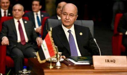 برهم صالح: العراق لن يسمح باستخدام القواعد الأميركة ضد إيران