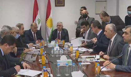 وفد من إقليم كوردستان في بغداد للتباحث حول معالجة المسائل التجارية والصناعية العالقة