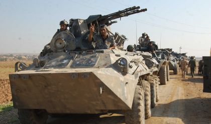 الاتحادية تعلن تطهير قرى وجبال ضمن عمليات كركوك