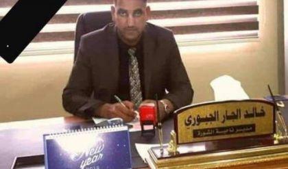 بالصور.. مصرع مدير ناحية الشورة بحادث سير جنوب الموصل