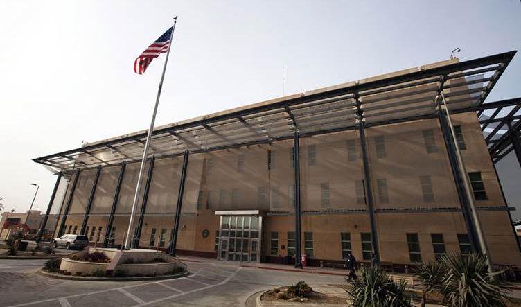 السفارة الأمريكية في بغداد تعلق أعمالها حتى اشعار آخر