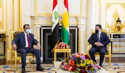مسرور بارزاني يبحث مع وزير الزراعة العراقي تسويق منتجات إقليم كوردستا