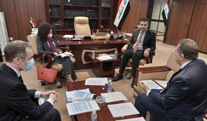 القانونية النيابية تبحث مع وفد أممي تشريع قانون المحكمة الجنائية العراقية بصبغة دولية