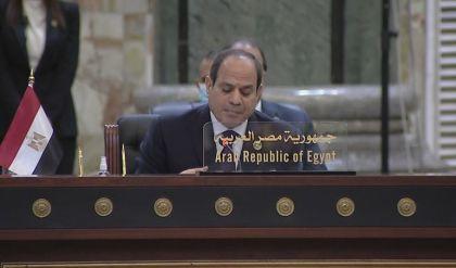 السيسي: العراق شهد تدخلات خارجية متنوعة ونرفض الاعتداءات على أراضيه