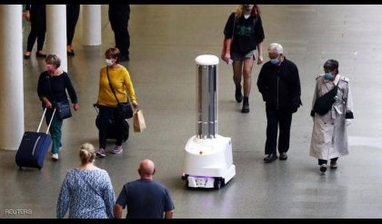 بالأشعة فوق البنفسجية.. روبوتات تلاحق كورونا في قطارات لندن