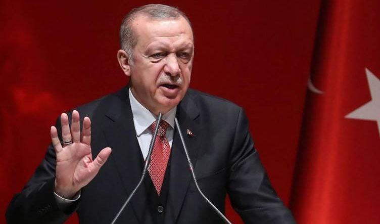 إردوغان يؤكد أن تركيا لن تقدم