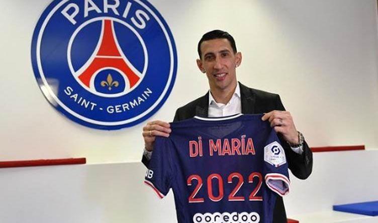 باريس سان جيرمان يجدد عقد دي ماريا