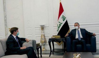 الكاظمي والسفير البريطاني يبحثان مستجدات المنطقة ودعم الاصلاحات