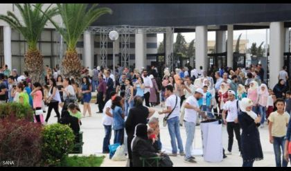 قتلى بسقوط قذيفة على معرض دمشق الدولي