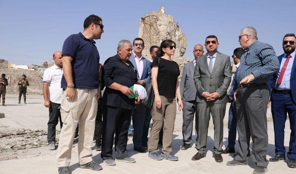 المباشرة بإعادة إعمار جامع النوري بأيمن الموصل