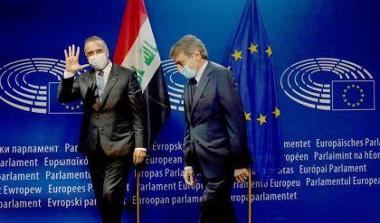 الكاظمي من البرلمان الأوروبي: الحكومة أحرزت تقدماً مهماً في مكافحة الإرهاب وحصر السلاح بيدها