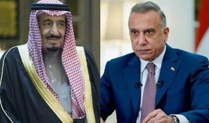 الكاظمي يوجه دعوة لملك السعودية لحضور قمة بغداد