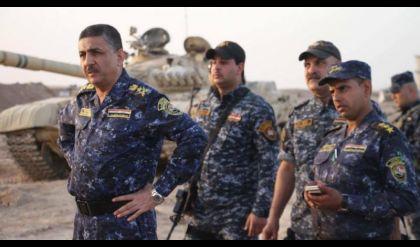 قوات الشرطة الاتحادية تسيطر على تقاطع منطقة الفتحة بقضاء الحويجة