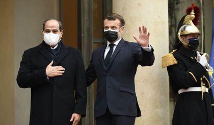 ماكرون يرفض ربط الشراكة بين مصر وفرنسا بملف حقوق الإنسان