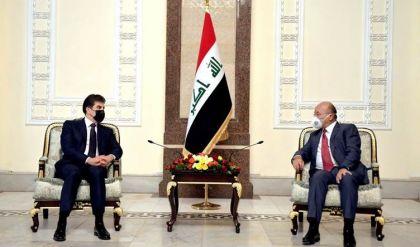 نيجيرفان بارزاني عن اجتماعاته مع الرئاسات العراقية الثلاث: بحثنا مواجهة تحديات المرحلة