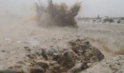 """تفجير اربعة انفاق وخندق لـ""""داعش"""" في صلاح الدين"""