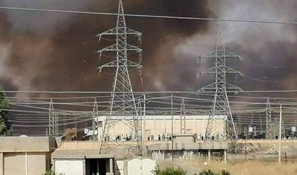 الدفاع المدني تكشف اسباب حريق المشراق جنوبي نينوى