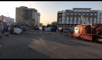 ارتفاع ضحايا تظاهرات النجف وأنباء عن تولي مكافحة الارهاب أمن المحافظة