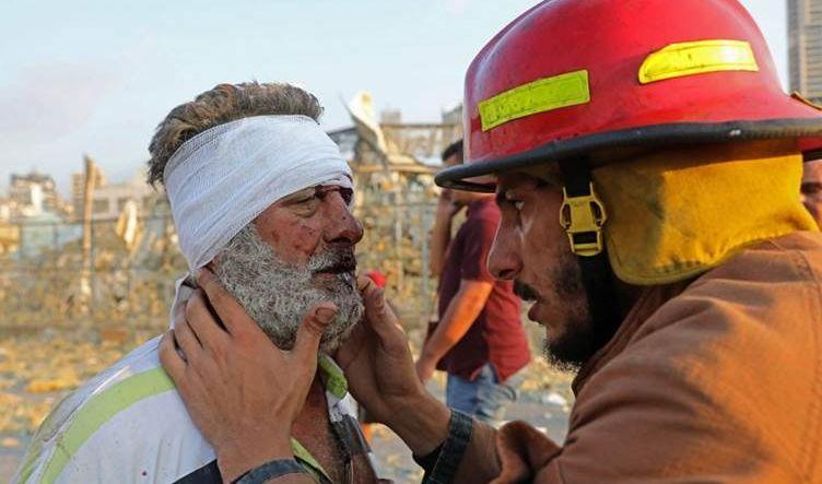 وزير الصحة اللبناني: الانفجار تسبب بإصابات كبيرة وهو ناتج عن مفرقعات نارية