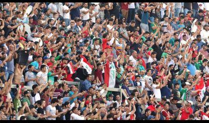 المنتخب العراقي ونجوم العالم في مباراة استعراضية