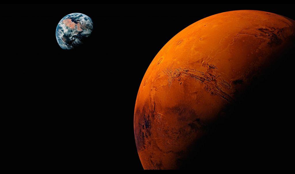 المريخ يقترب من الشمس ويقطع اتصاله مع الارض