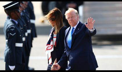 ترامب يبدأ زيارته إلى بريطانيا بهجوم حاد على عمدة لندن