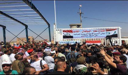افتتاح معبر البوكمال ـ القائم بين سوريا والعراق أمام حركة عبور البضائع والأشخاص