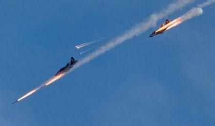 """مقتل تسعة """"دواعش"""" بقصف جوي استهدف نفقا سريا غربي الأنبار"""