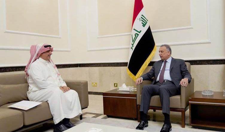 الكاظمي يبحث مع السفير السعودي التعاون الثنائي وتفعيل التبادل التجاري بين بغداد والرياض