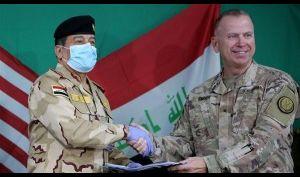 العمليات المشتركة تعلن تسليم التحالف الدولي مقره في نينوى لوزارة الدفاع