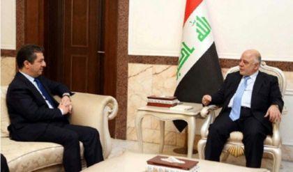 العبادي يستقبل مسرور البارزاني في بغداد