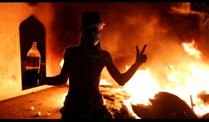 بريطانيا تدين استخدام العنف المفرط ضد المتظاهرين في العراق